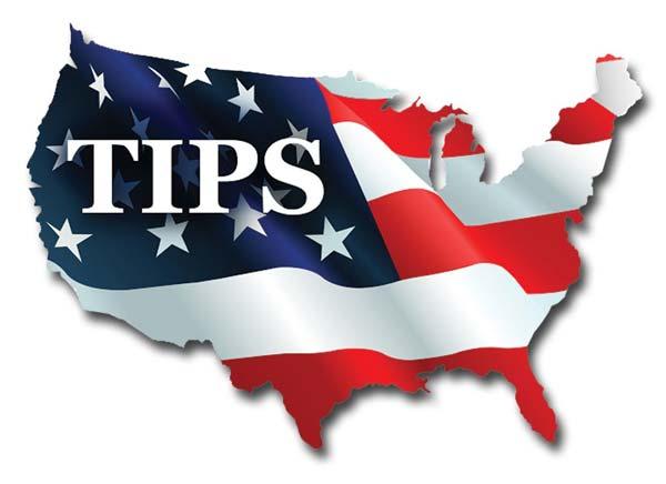 U.S. Flag superimposed over map of U.S.